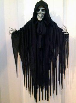 Déco squelette animé