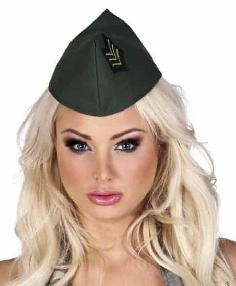 Calot femme militaire