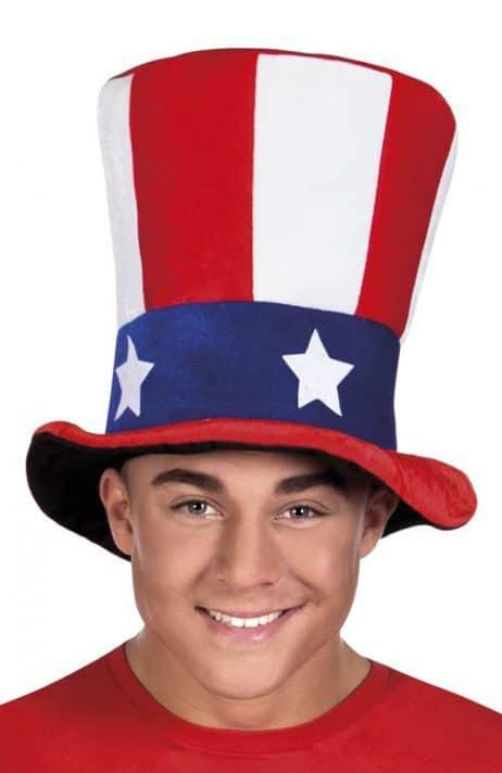 CHAPEAU AMÉRICAIN USA (Chapeau Haut de forme)