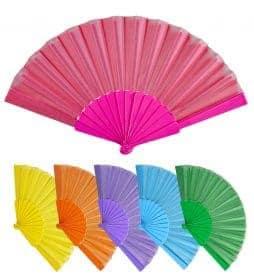Eventails multicolores