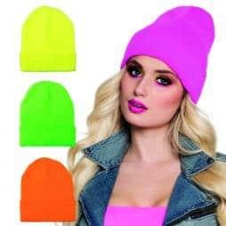 Lot de 12 bonnets fluos