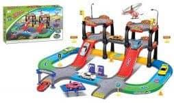 Garage et piste voiture