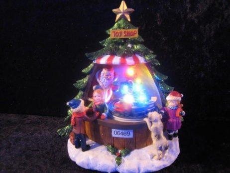 SAPIN DU PÈRE NOEL (Animation + son et lumière) Décoration de Noel