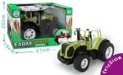 Boite tracteur friction