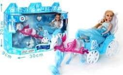 Coffret carrosse + cheval