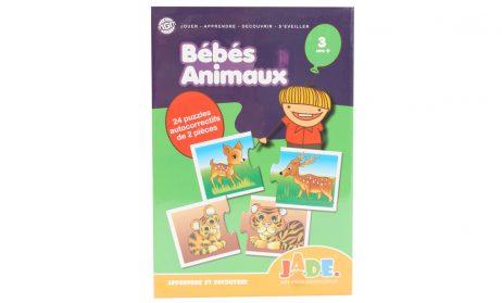 Puzzle jade bébés animaux