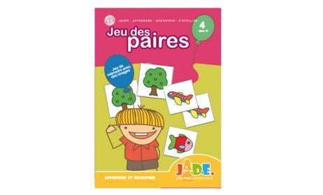 JEU DES PAIRES - MÉMOIRE