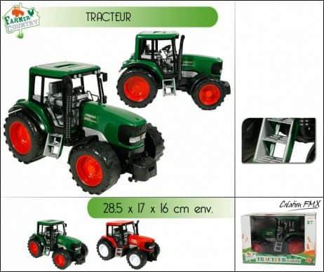 BOITE TRACTEUR FRICTION (Tracteur de la ferme)