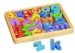 Coffret alphabet en bois