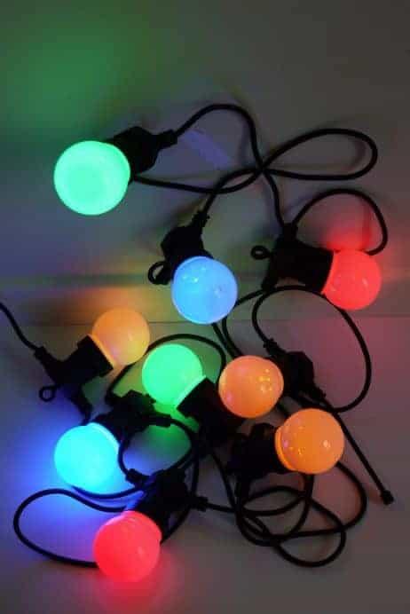 GUIRLANDE ELECTRIQUE (Longueur 4.50m - 10 LED) Rallonge électrique 5 m