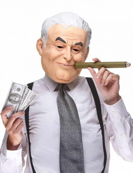 MASQUE DE DSK EN LATEX (Dominique Strauss Kahn) Homme politique