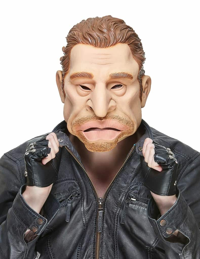 Masque johnny hallyday masque int gral en latex masque c l brit ced - Housse de couette johnny hallyday ...