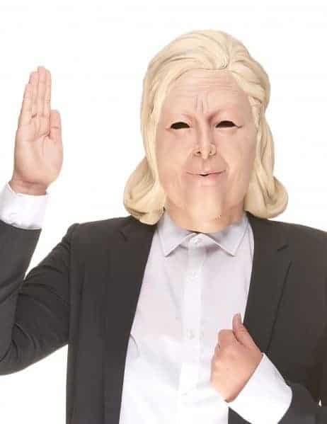 Masque Marine Le Pen Latex