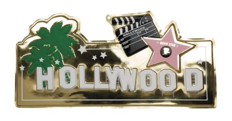 DÉCORATION HOLLYWOOD (Plaque murale 28 x 60 cm)
