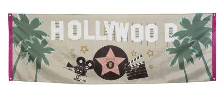 Banderole cinéma Hollywood