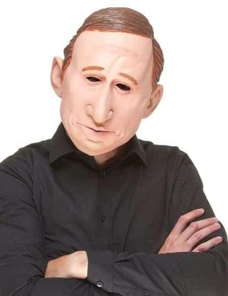 Masque Vladimir Poutine (Masque Intégral en latex) Homme politique