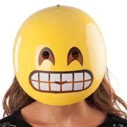 Masque emoticone sourire