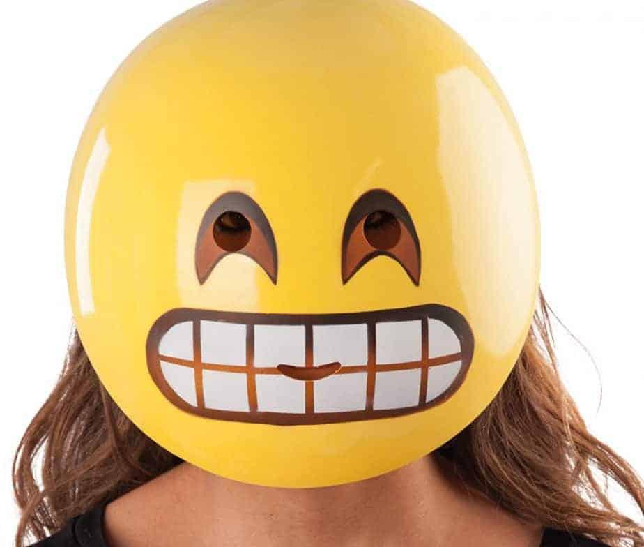 Masque émoticône émotion Sourire Ced