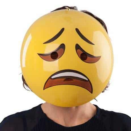 MASQUE - ÉMOTICÔNE (Émotion - Triste)