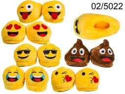 Chaussons emoticone