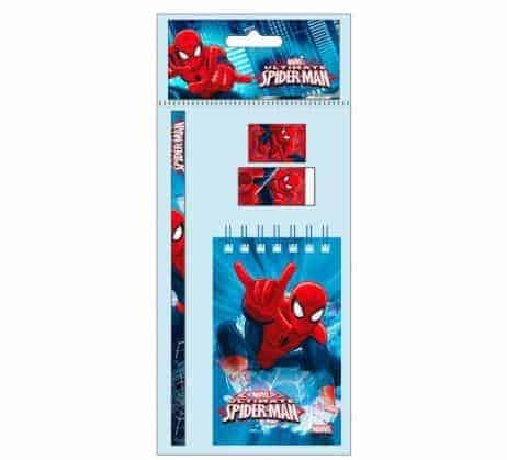 Pack ecolier spiderman
