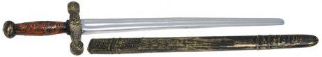 ÉPÉE DE CHEVALIER 75 cm (Épée plastique + fourreau)