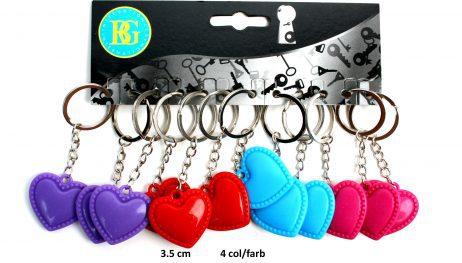 Porte clé amour