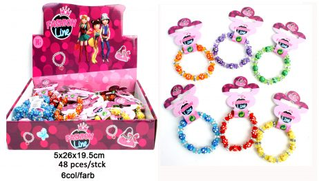 Coffret 48 bracelets billes