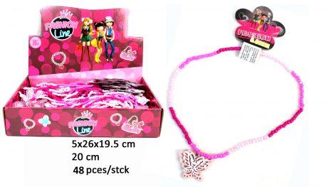 Collier de perles 20 cm