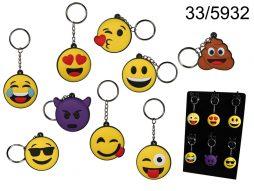 Porte clé emoticone
