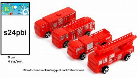 Camion de pompier retrofirction