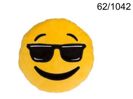 Peluche emoticone 30 cm