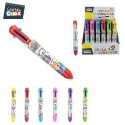 Coffret stylos 8 couleurs