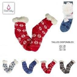 Chaussettes chaussons enfant