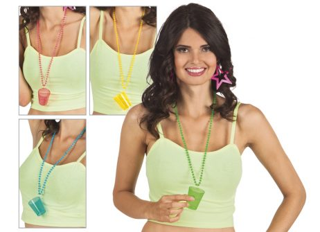Collier shooter fluo