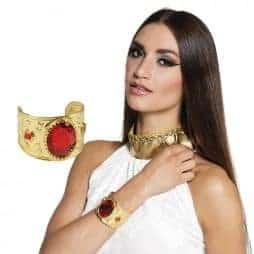 Bracelet rubis rouge