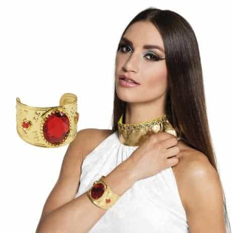 BRACELET AVEC RUBIS (Bracelet doré)