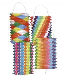 Lampion multicolore 16 cm