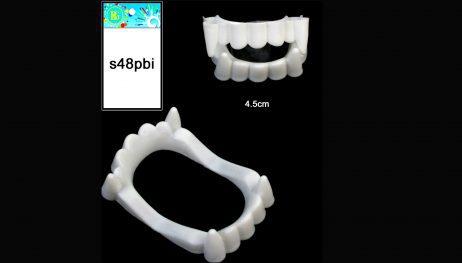 Dentier vampire 4.5 cm