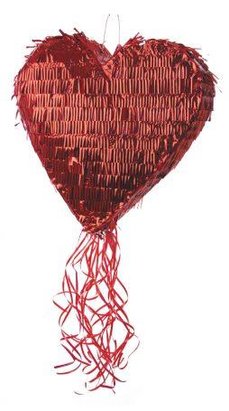 Pinata coeur rouge