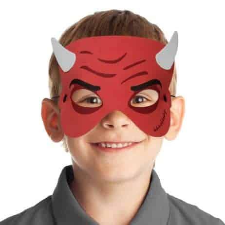 Masque diable enfant