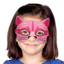 Masque chat en mousse