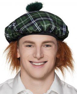 beret ecossais vert