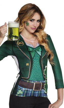 Chemise femme Saint Patrick