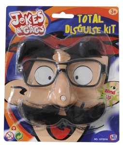 Kit moustache nez animé