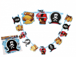 Guirlande pirate carton