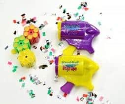 Pistolet a confettis 10 x 8 cm