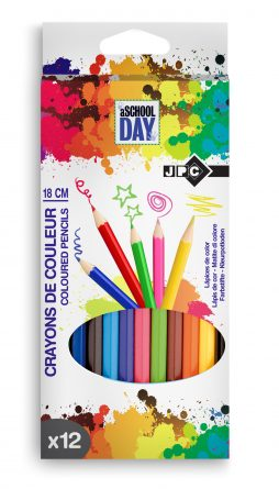 Crayons de couleurs x 12
