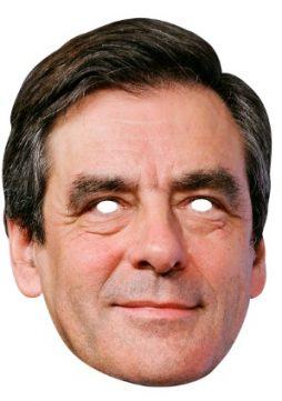 Masque Francois Fillon