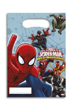 Sacs cadeaux Spiderman